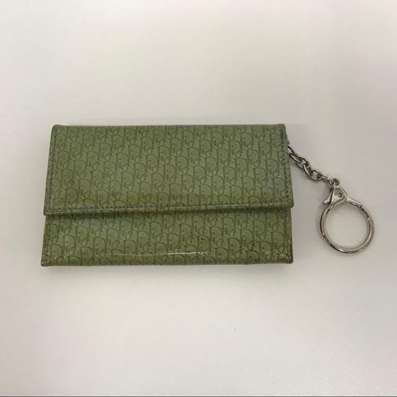 Dior Bags   Christian Patent Change Case Key Ring   Poshmark 0162397e08